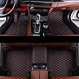 JJJJD Cuero Custom Car Floor Mat para Opel Todos Modelos Astra H J G Mokka Insignia Cascada Corsa Adam Ampera Andhra Zafira Styling (Color : Black)