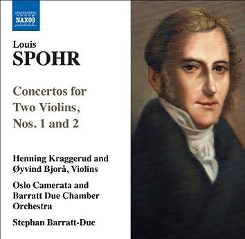 Spohr, L.: Concertos for 2 Violins, Nos. 1 and 2