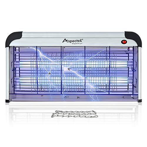 Aspectek 40W Indoor Bug Zapper, Insect, Mosquito Killer, XXL
