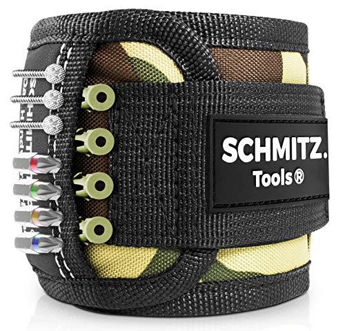 Magnetarmband für Handwerker [2021] Magnetarmband für Handwerker Geschenke - Heimwerker - Magnetisches Armband für Männer - Vatertagsgeschenk - Vatertag - Geschenk für Vater
