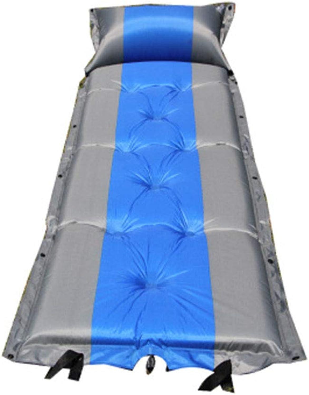Pessica Außenfeuerfeste aufblasbare Kissen Automatische aufblasbare Picknick-Matte Portable Portable Portable vergrößert dickbare Zelt-Schlafmatte Doppel-Picknick-Matte 183  57cm,3Thick B07Q39PSMJ  Sonderangebot deee7f