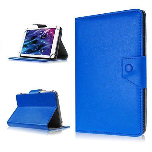 NAUC Medion Lifetab S10366 S10352 P10356 Tasche Hülle Tablet Schutzhülle Hülle Cover, Farben:Blau