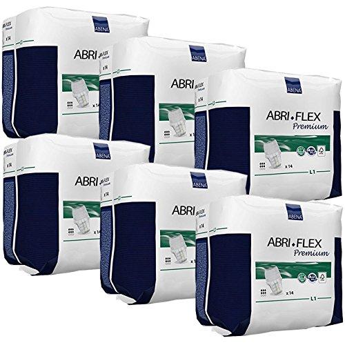 Abena Abri Flex Premium Large L1 - Case of 6 Packs of 14 by Abena
