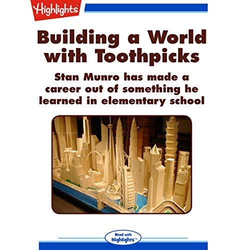 Building a World with Toothpicks copertina