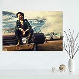 Predicador Serie de TV Cartel Lienzo Pintura HD Impresión Arte de la pared Imágenes Oficina Bar Mural Decoración para el hogar 50 * 75 cm (Sin marco)