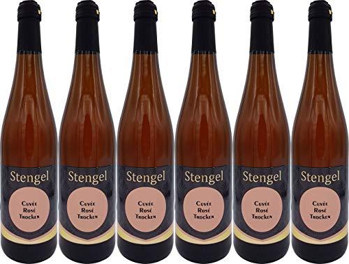 Sekt- und Weinmanufaktur Stengel Rosé Trocken (6 x 0.75 l)