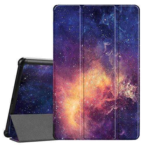 Fintie Hülle für Samsung Galaxy Tab A 10.5 2018 - Ultra Schlank Superleicht Schutzhülle mit Auto Schlaf/Wach Funktion für Galaxy Tab A 10.5 Zoll SM-T590/T595 Tablet-PC, Die Galaxie