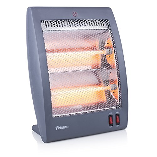 Tristar KA-5011 Calefactor eléctrico, Cuarzo, 2 ajustes de calor (400 W y...