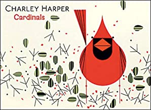 Cardinals by Charley Harper Boxed Notecards