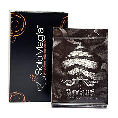 Bicycle Arcane Black by Ellusionist - Tarjeta Juegos - Trucos Magia y la Magia