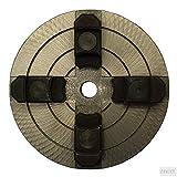 MANDRINO PER TORNIO A LEGNO A 4 GRIFFE INDIPENDENTI ø 150 mm PER TORNI EINHELL VALEX E MARCHE...