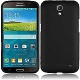 LF 3 in 1 Bundle - Hard Case Cover, Lf Stylus Pen & Droid Wiper Accessory for (AT&T 2014 Release) Samsung Galaxy Mega 2 SM-G750F (Hard Black)