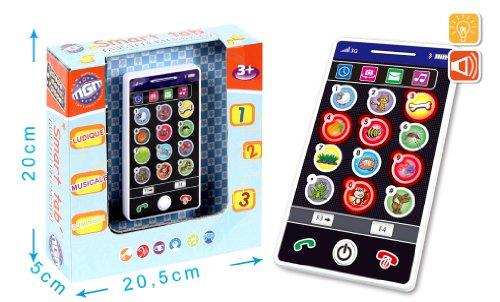 Smartphone Educatif Ecran Touch 7.5x14x2.5cm plus de 3 ans