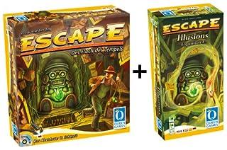 Queen Games 61046 - Escape Basisspiel mit Erweiterung 1: Illusions (B00AN61TU6)   Amazon price tracker / tracking, Amazon price history charts, Amazon price watches, Amazon price drop alerts