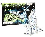 Geomag- Glow Construcciones magnéticas y juegos educativos, Multicolor, 76 piezas (332)