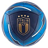 PUMA FIGC Icon Ball, Pallone da Calcio Unisex Adulto, Peacoat/Team Power Blue White Team Gold, 5