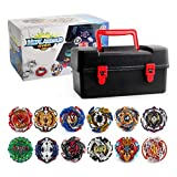 Acant 12 Pieces/Set Battle Tops Case Toy, Beyblades Burst Launcher Battle, Multiplayer Game
