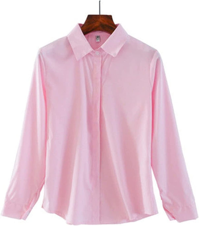 DAGCOT Long Sleeve Shirt Womens Memphis Mall C Button Vintage Up Portland Mall Blouse