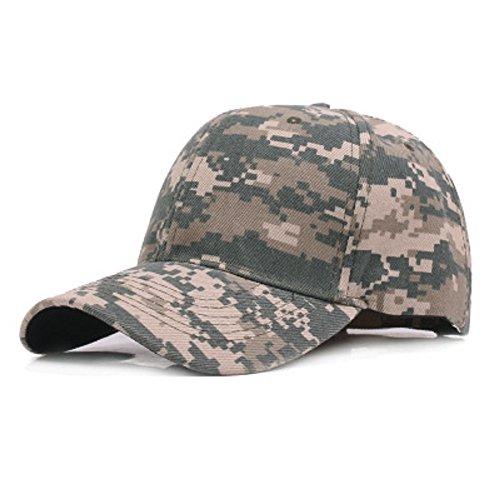 Camuflaje Gorra de  cadete ejército Gorras  algodón ejército Militar Capo Camuflaje