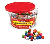 Learning Resources Centimeter Cubes, Counting/Sorting Toy, Assorted Colors, Math Cubes, Learning Cubes for Kids, Set of 500, Ages 6+