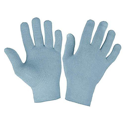 Deluxe-Handschuhe für Raynaud-Syndrom, 12 % Silber Gr. L/XL, blau