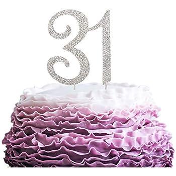 Anniversario Di Matrimonio 31 Anni.Queen54ferna Topper Per Torta Di Compleanno Per 28 Anni Con