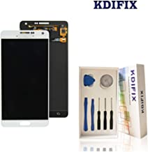 KDIFIX for Samsung Galaxy A7 2015 A700 LCD Touch Screen Assembly with Full Professional Repair Tools kit (White)