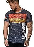 Camiseta Hombre Manga Corta 3D Chic Estampado Tops Hombre Estilo Hip-Hop Urbano Moderno Deportiva Shirt Hombre Verano Ajuste Regular Cómoda Camiseta Hombre