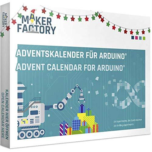 MAKERFACTORY Adventskalender für Arduino® Adventskalender ab 14 Jahre