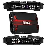 1 BOSS Audio Systems PF2600 Amplificador 4 Canales 1300 vatios rms 4x325 vatios rms a 2 ohmios y 2600 vatios máx Bass Boost 0/+18 db, 1 Pieza