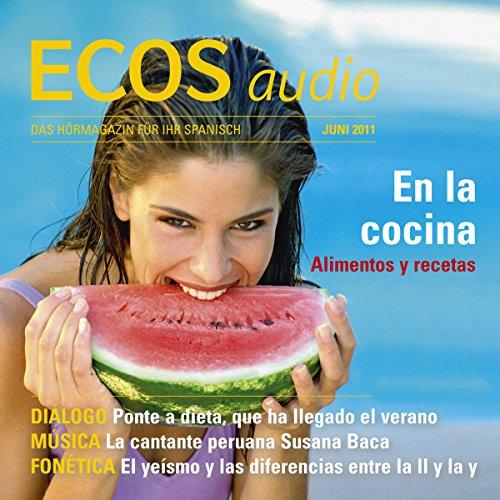 ECOS audio - En la cocina. 6/2011 Titelbild