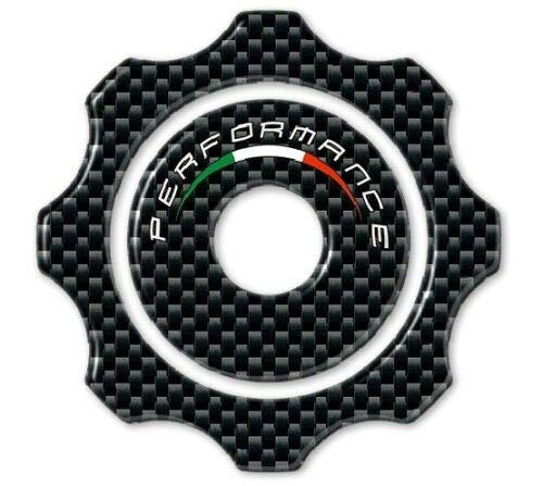 3D Sticker Tank Cap kompatibel für Motorrad Ducati Hypermotard HYPERSTRADA