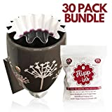 Wax Warmer Liners, 30 Reusable & Leakproof Liners for Wax Melt Warmers, Change Your Wax Easily, Specifically Designed for Electric Wax Warmers, Plug in Warmers for Scented Wax and Wax Melt Warmers