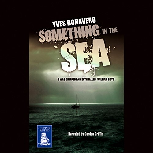 Something in the Sea audiobook cover art