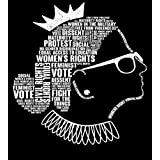 """2 Pcs 8""""X12"""" in Metal Signs Ruth Bader Ginsburg Notorious RBG Quotes Poster"""