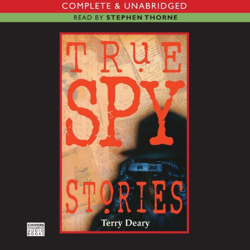 True Spy Stories audiobook cover art