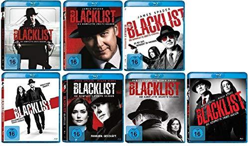 The Blacklist Staffel 1-7 (1+2+3+4+5+6+7, 1 bis 7) [Blu-ray Set]