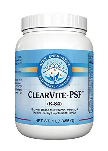 Energetics Clearvite - PSF (K-84),net wt 1LB (455g)