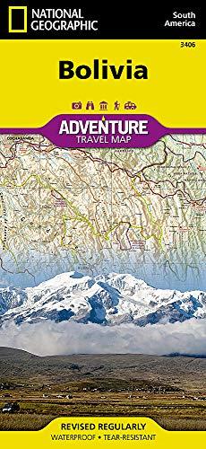 Bolivia: Travel Maps International Adventure Map