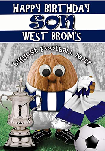 Birthday Card for Son – West Brom - Football Sports Nut