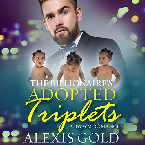 The Billionaire's Adopted Triplets audiobook cover art