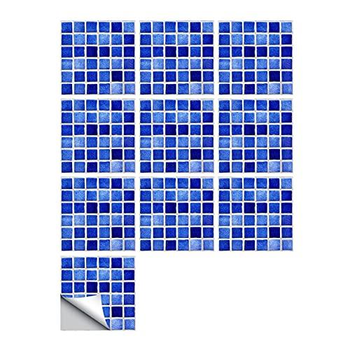 Vinilos para azulejos de pared 10 unids/set mármol Azulejos helados Pequeño Pegatina de pared Cocina Baño Casa Renovación Papel tapiz Papel tapiz antideslizante Calcomanías Aislamiento térmico