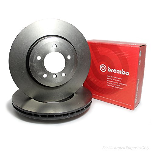 Brembo 09876010 Disco de Freno, Set de 2