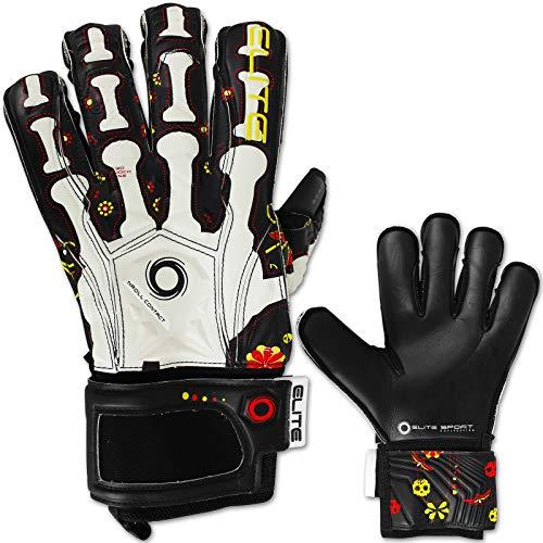 TW24 Elite Sport Torwarthandschuhe Calaca mit Größenwahl Fussball Handschuhe Erwachsene Kinder Torwart Handschuh Trainingshandschuhe (10)