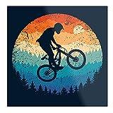 Póster de moda para sala de estar, decoración de pared, diseño de Mountain Biking