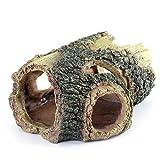 Filhome Decoración de resina para acuario, ideal para pequeños gambas, escondites