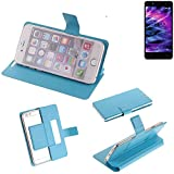 K-S-Trade Flipcover proetcion case for Medion S5004, light