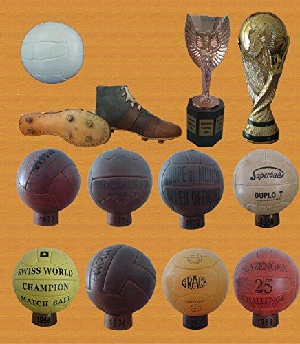 Coleccion BALONES MUNDIALES Futbol 1930-1966