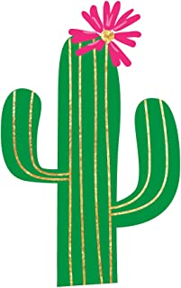 FIESTA CACTUS set of 25 premium waterproof metallic foil colorful temporary fiesta inspired Flash Tattoos - Party Favors, Party Supplies, cinco de mayo, temporary tattoo, metallic tattoo, tattoo