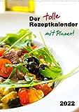 Der tolle RezeptkalenderCH-Version (Wandkalender 2022 DIN A2 hoch): Herzhafte Rezepte, einfach gekocht. (Planer, 14 Seiten )